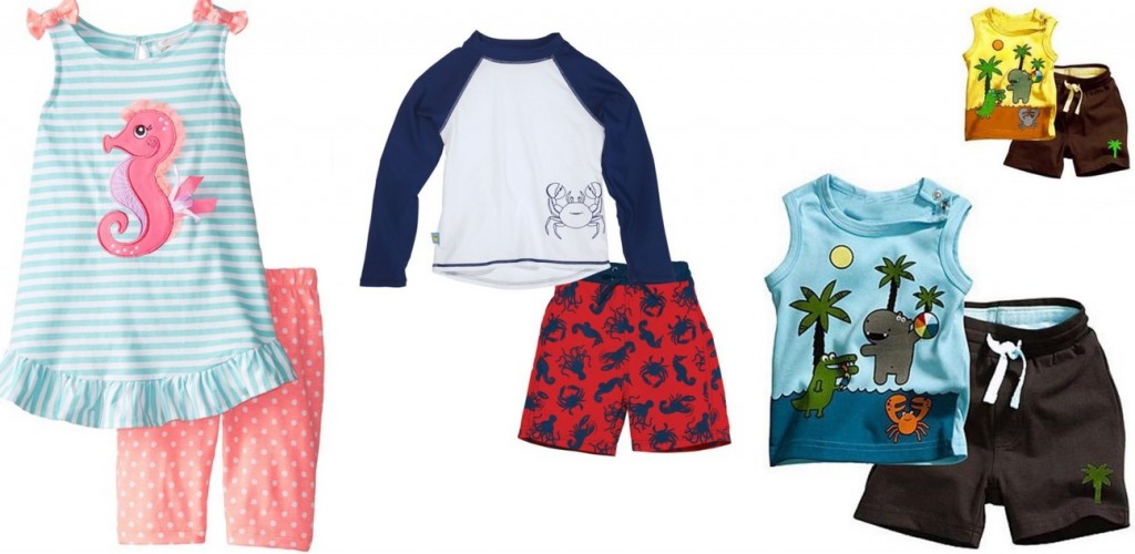 Seven Ways to Save Money on Summer Clothes for Kids