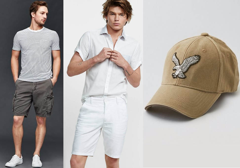 Men's Shorts and Caps