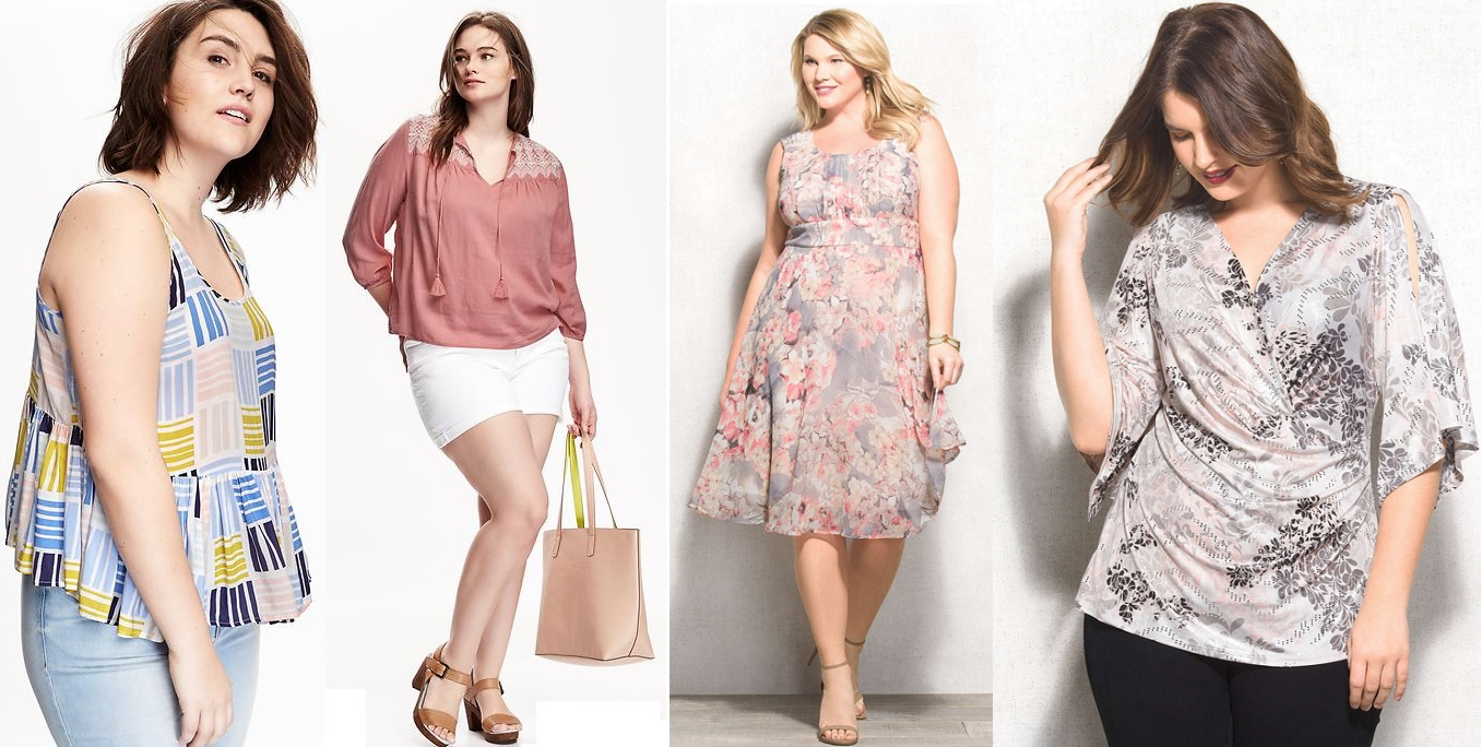 b206b83fdad Plus Size Fashion Trends for Summer 2016