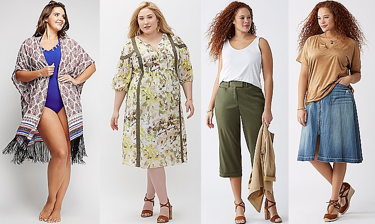 Plus Size Clothing Trends for Summer 2016